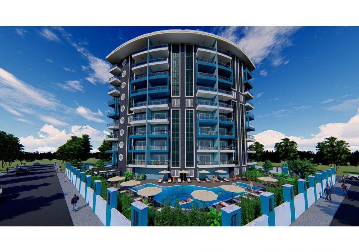 Новый инвестиционный проект в современном курортном районе Махмутлар - Фото 16