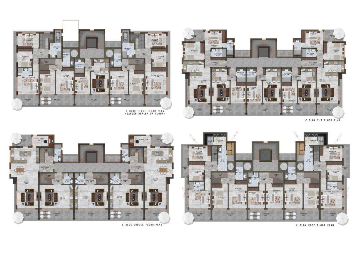 Новый жилой комплекс в экологически чистом районе Каргыджак - Фото 24