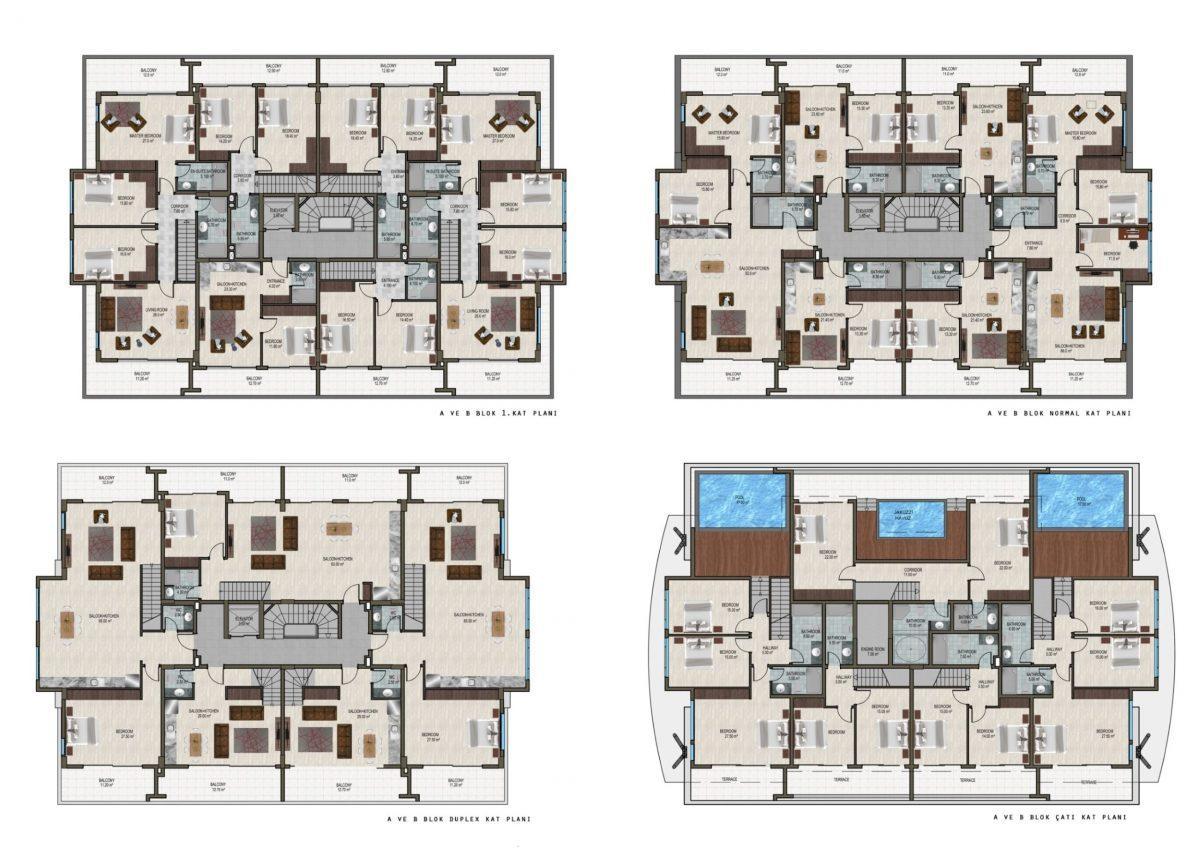 Новый жилой комплекс в экологически чистом районе Каргыджак - Фото 27