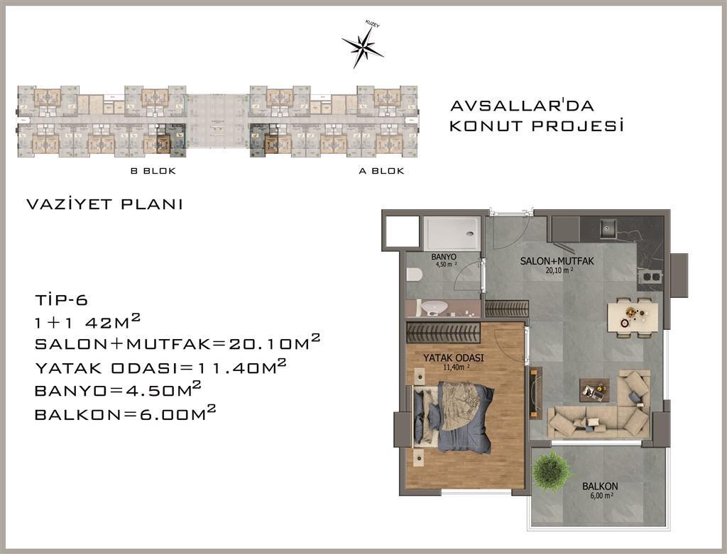 Новый жилой комплекс в районе Авсалар - Фото 30