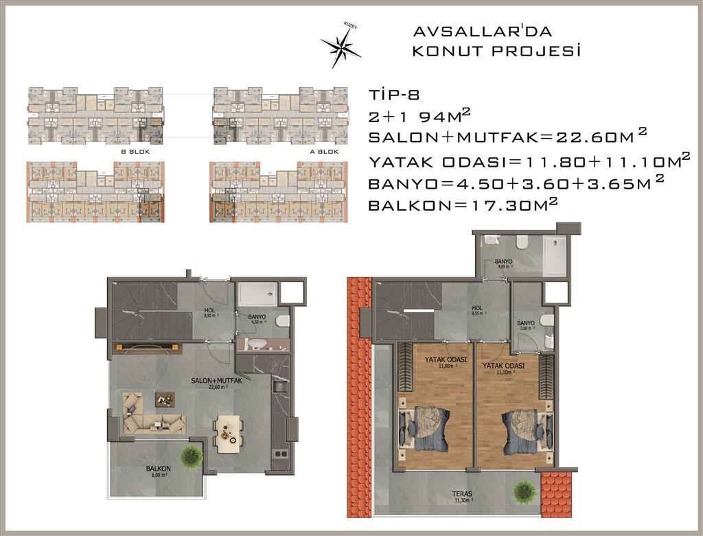 Новый жилой комплекс в районе Авсалар - Фото 32
