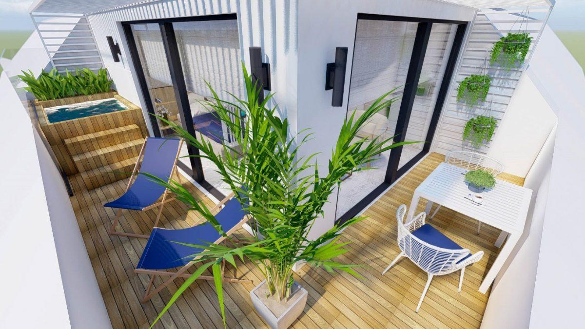 Новый стильный комплекс в Центре Алании  - Фото 10