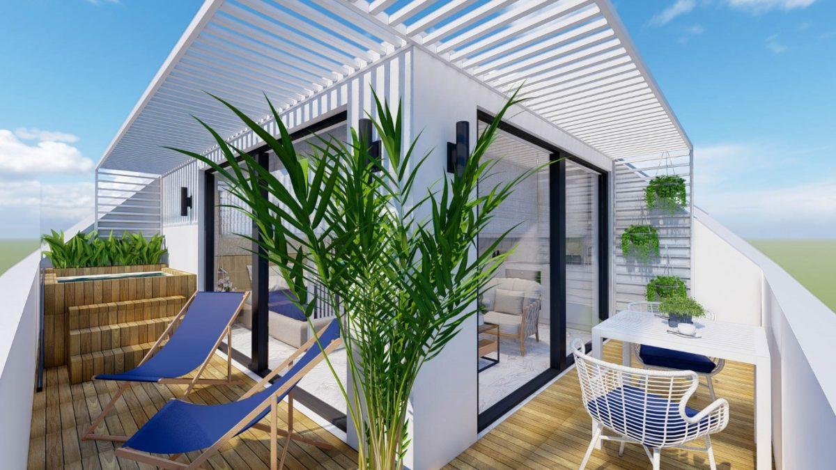 Новый стильный комплекс в Центре Алании  - Фото 9