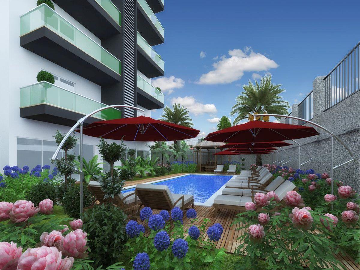 Квартиры в строящемся комплексе района Авсаллар - Фото 1