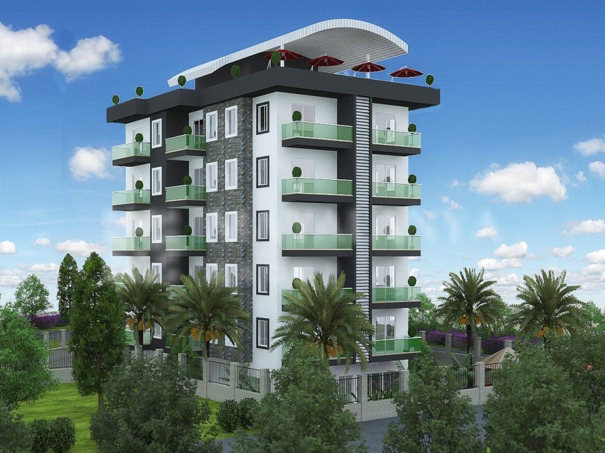 Квартиры в строящемся комплексе района Авсаллар - Фото 2