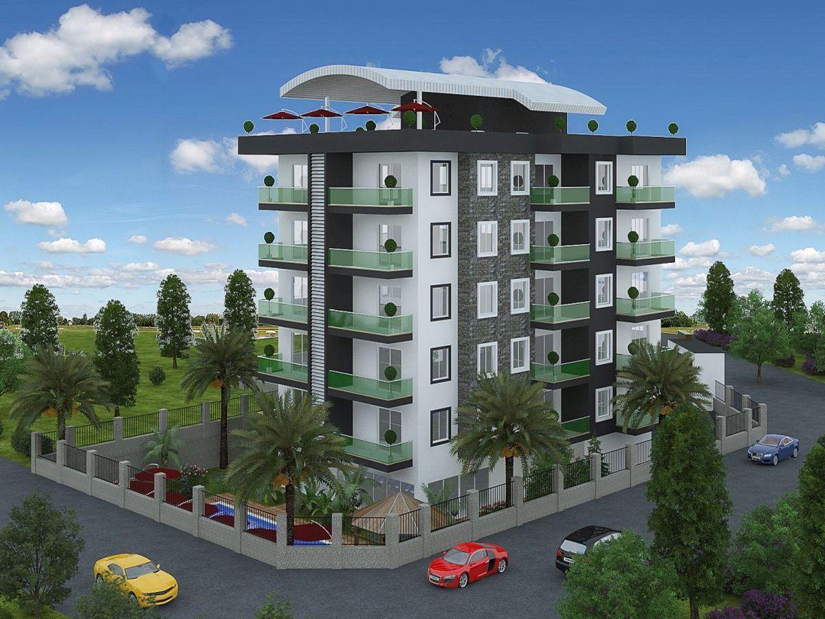 Квартиры в строящемся комплексе района Авсаллар - Фото 3