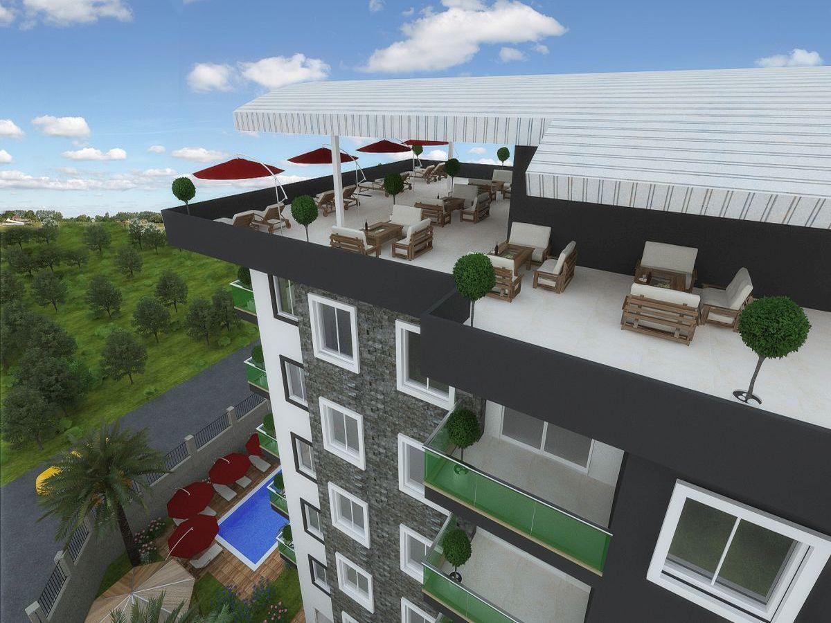 Квартиры в строящемся комплексе района Авсаллар - Фото 4