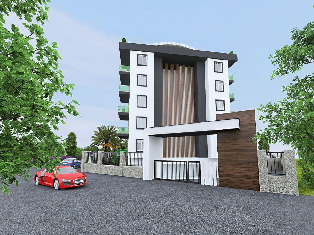 Квартиры в строящемся комплексе района Авсаллар - Фото 5