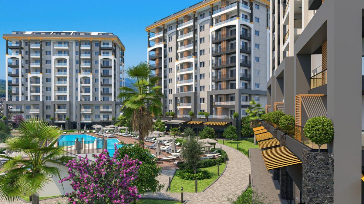 Новые квартиры в районе Авсаллар - Фото 4
