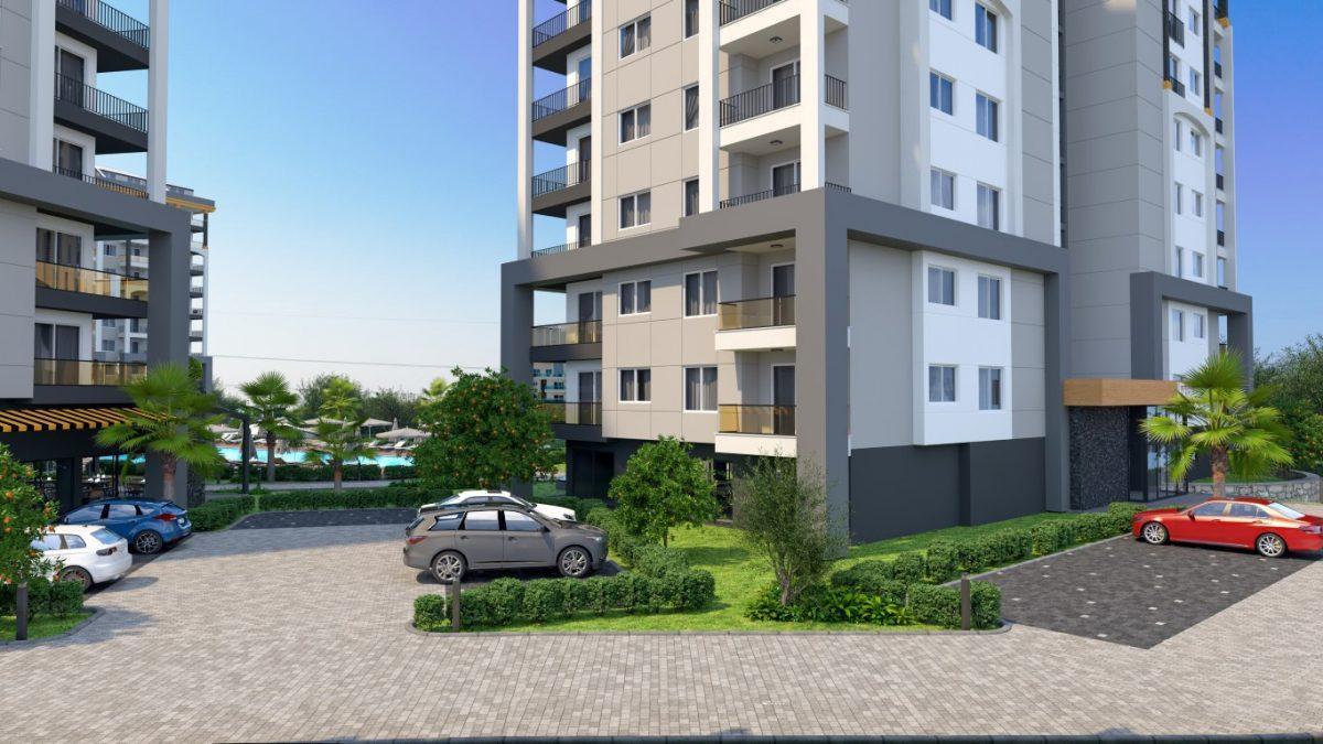 Новые квартиры в районе Авсаллар - Фото 3