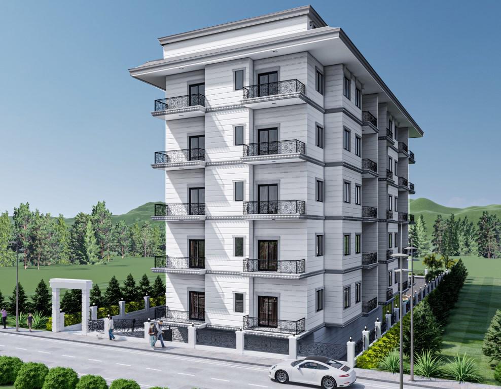 Новый бюджетный жилой комплекс с хорошей инфраструктурой в Махмутларе - Фото 1