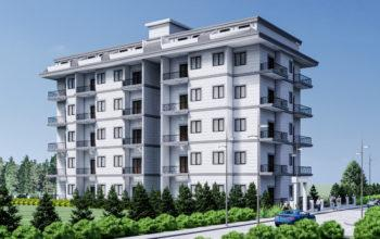 Новый бюджетный жилой комплекс с хорошей инфраструктурой в Махмутларе