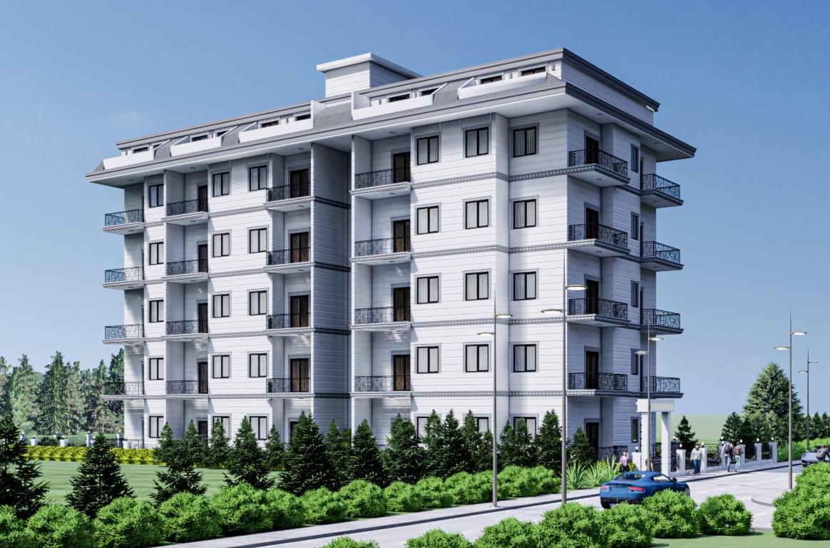 Новый бюджетный жилой комплекс с хорошей инфраструктурой в Махмутларе - Фото 2