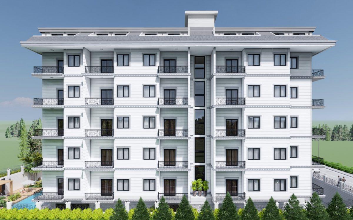 Новый бюджетный жилой комплекс с хорошей инфраструктурой в Махмутларе - Фото 3