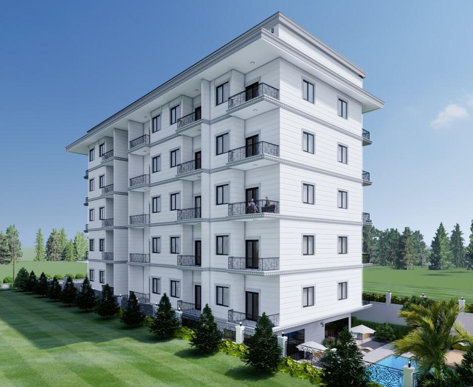 Новый бюджетный жилой комплекс с хорошей инфраструктурой в Махмутларе - Фото 4