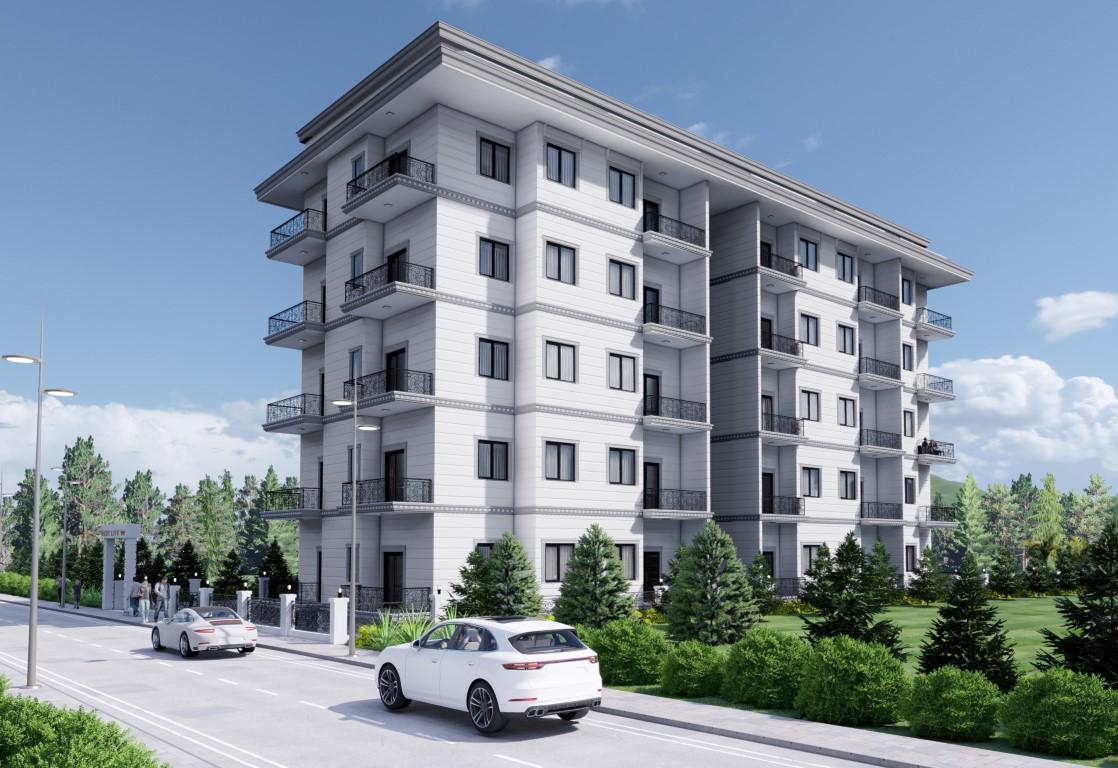 Новый бюджетный жилой комплекс с хорошей инфраструктурой в Махмутларе - Фото 5