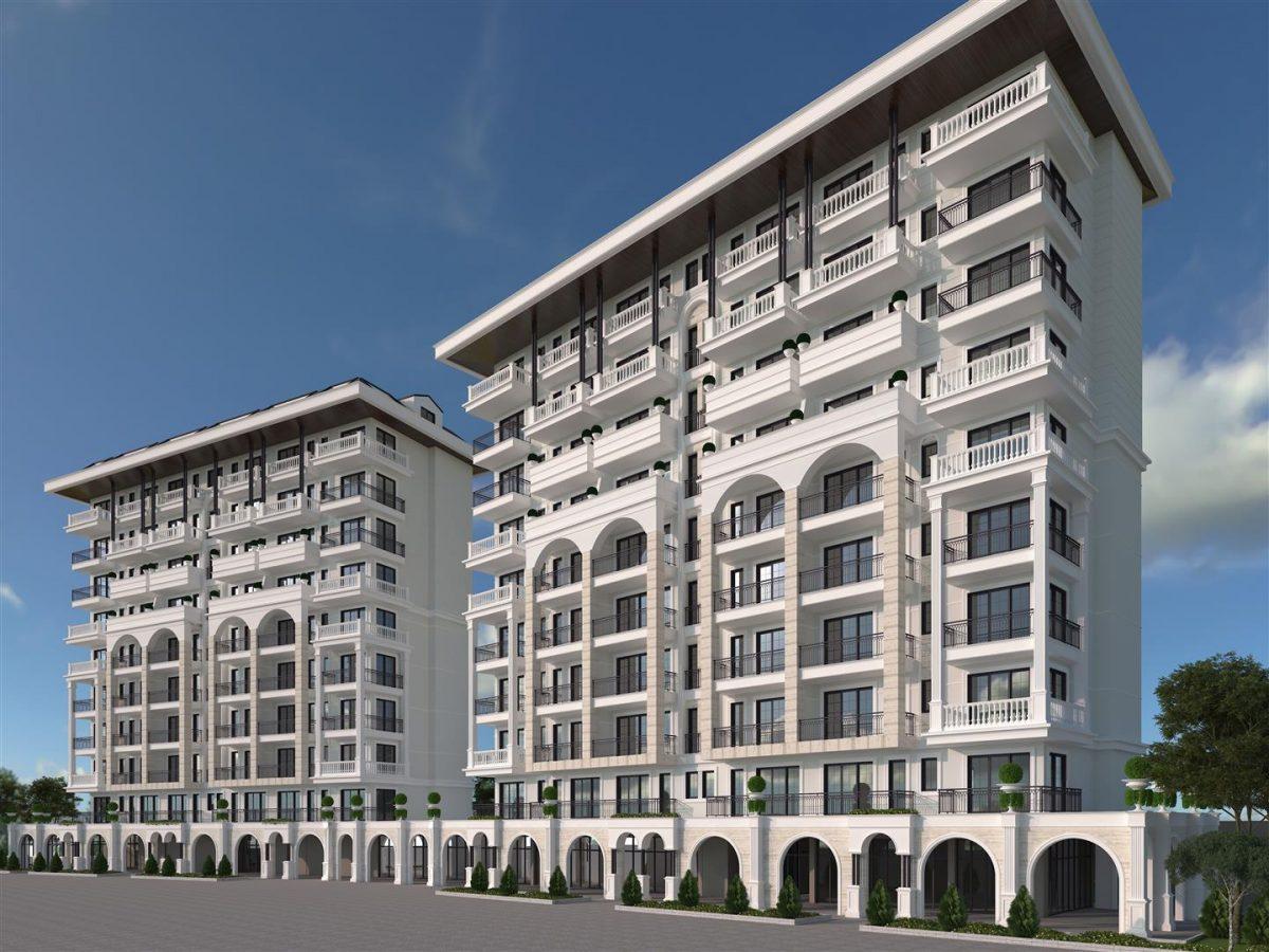 Новый элитный проект в центре города Алании - Фото 2