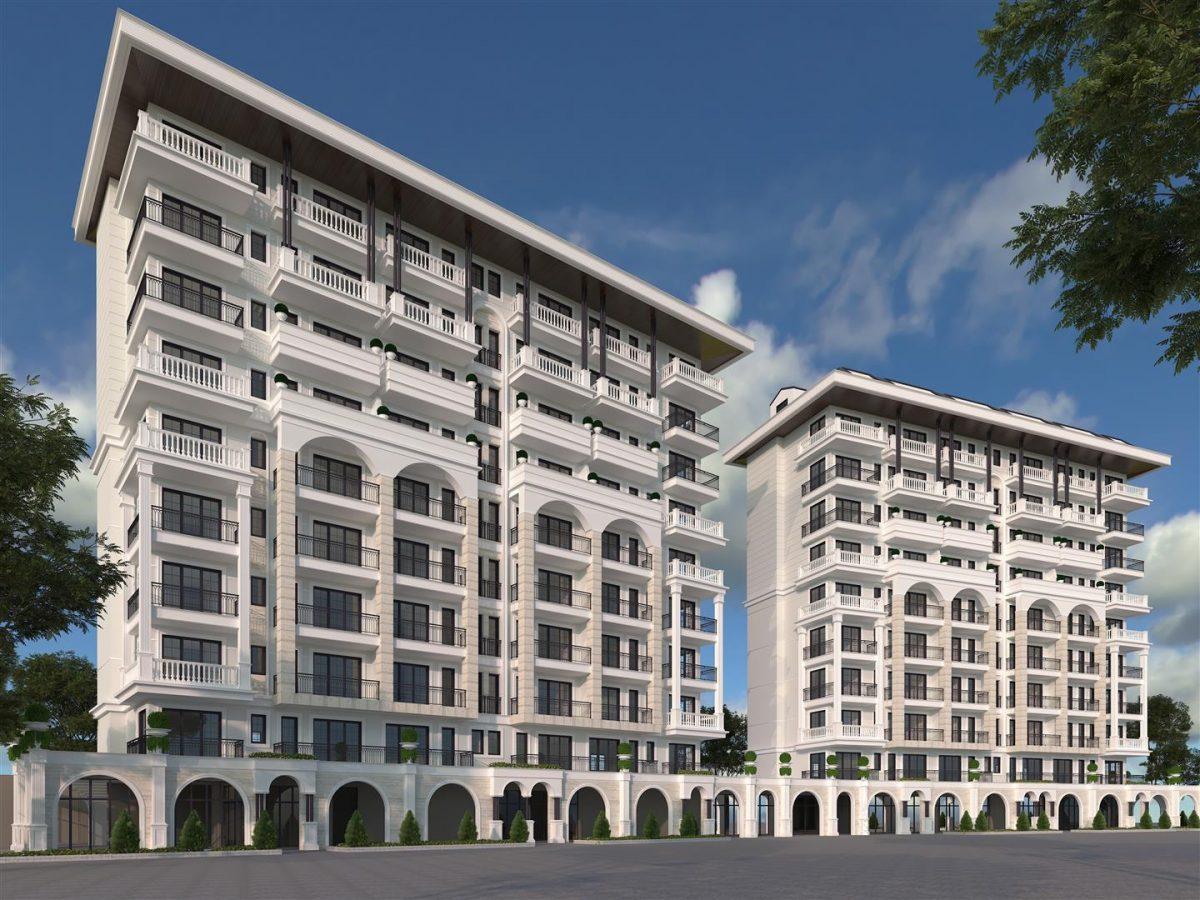 Новый элитный проект в центре города Алании - Фото 1