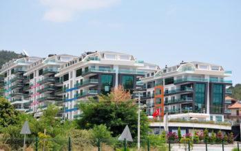 Меблированная квартира 2+1 с видом на море