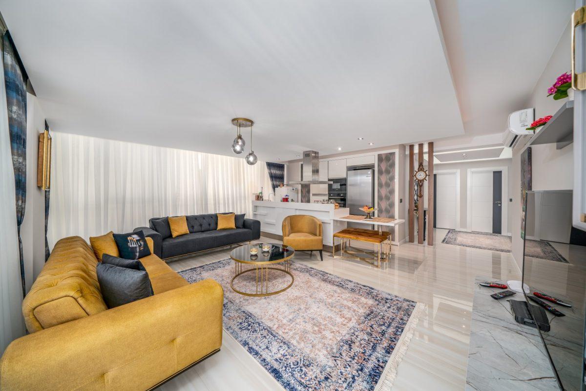 Меблированная квартира в комплексе с богатой инфраструктурой в Кыргыджак - Фото 17