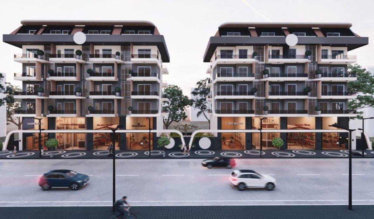Новый бюджетный комплекс в Махмутларе 550 метров до моря - Фото 2
