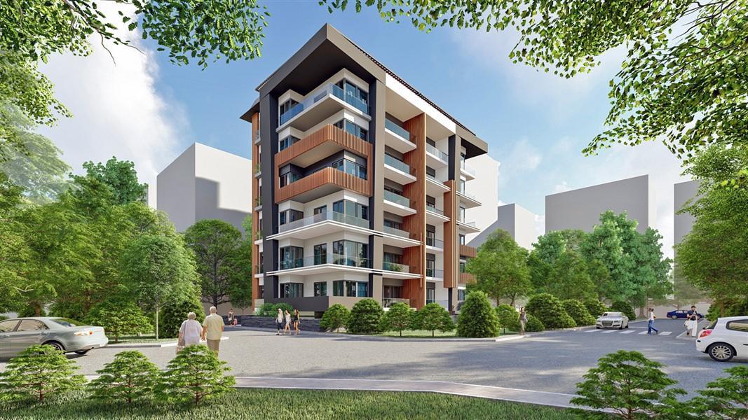Жилой комплекс класса люкс в курортном районе Махмутлар  - Фото 1