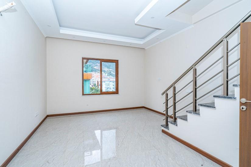 Пентхаус 4+1 в новом доме в центре Алании - Фото 11