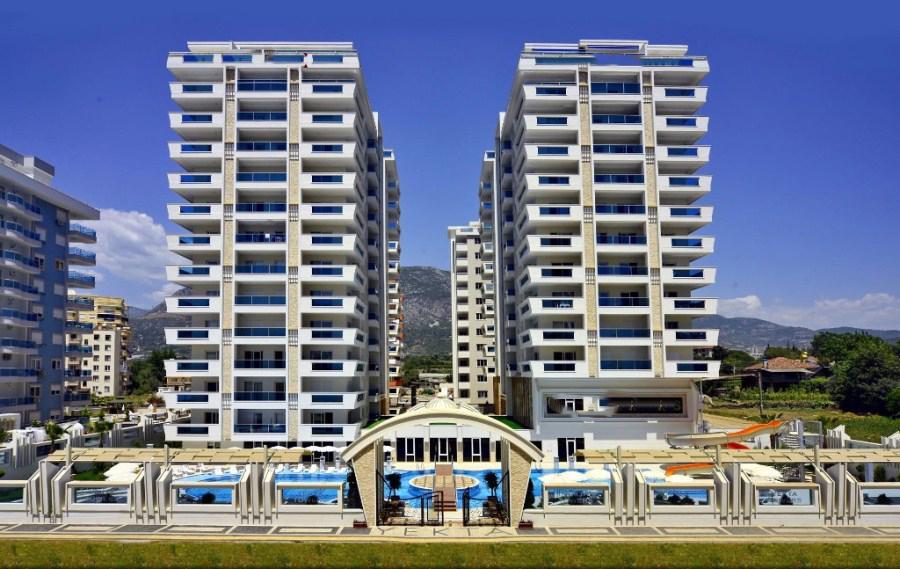 Просторные апартаменты 2+1 в новом комплексе в Махмутларе - Фото 1