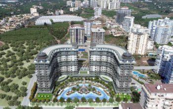 Апартаменты в новом ЖК в Махмутларе