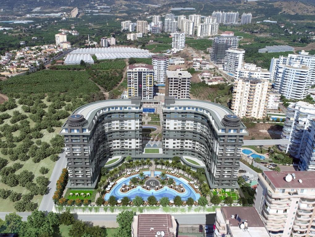 Апартаменты в новом ЖК в Махмутларе - Фото 1