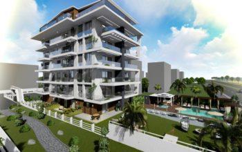 Новые квартиры на первой береговой линии в районе Кестель