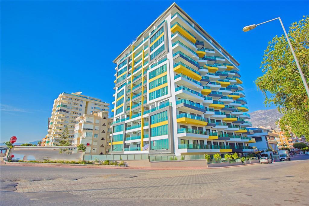 Двухкомнатные апартаменты на первой береговой линии в Махмутларе - Фото 2
