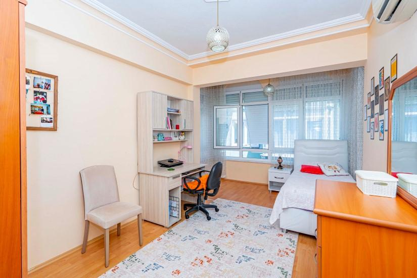 Трёхкомнатная квартира в центре Алании - Фото 11