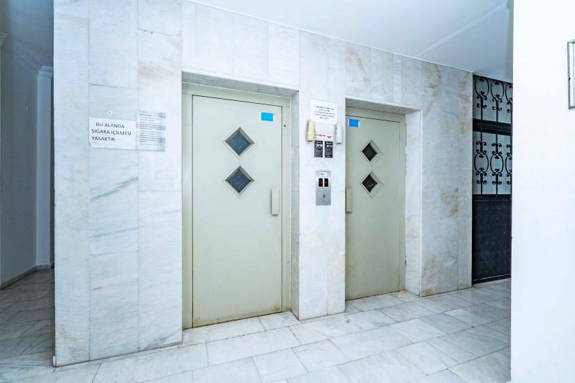 Двухкомнатные апартаменты на высоком этаже в центре Алании - Фото 9