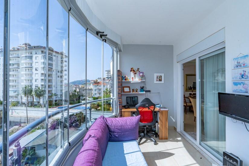 Трехкомнатная квартира с мебелью в Джикджилли  - Фото 9