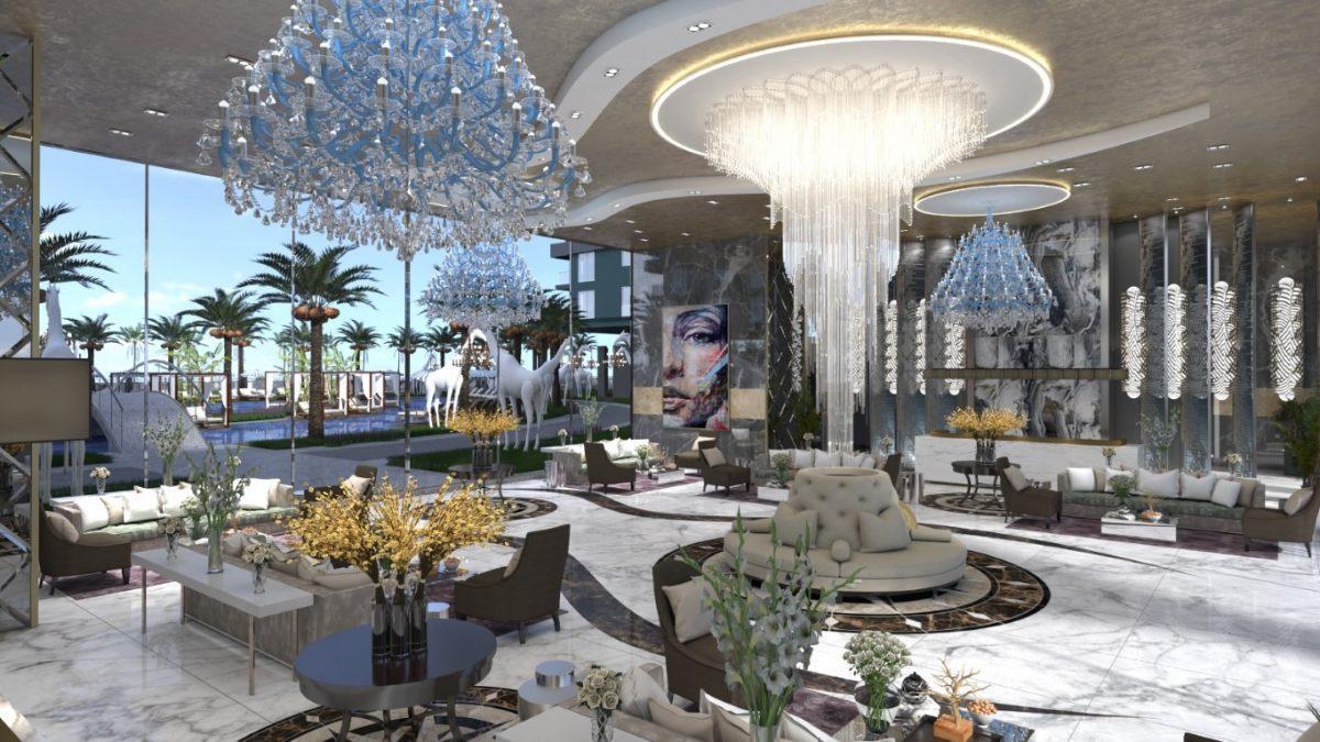 Апартаменты 1+1 в новом ЖК в Махмутларе по привлекательной цене - Фото 9
