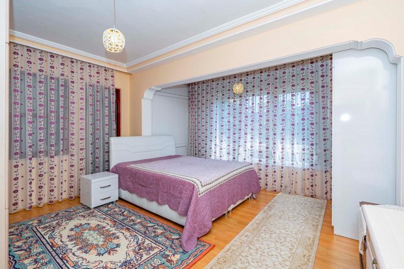 Трёхкомнатная квартира в центре Алании - Фото 12