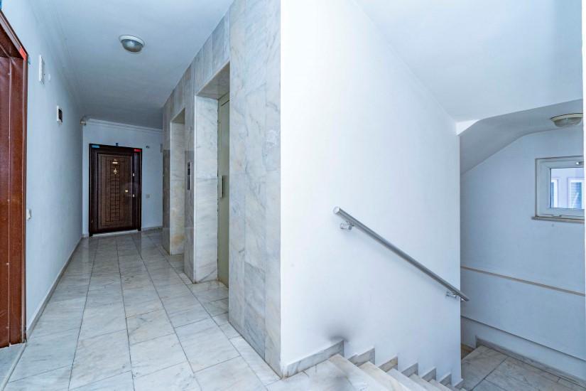 Двухкомнатные апартаменты на высоком этаже в центре Алании - Фото 10