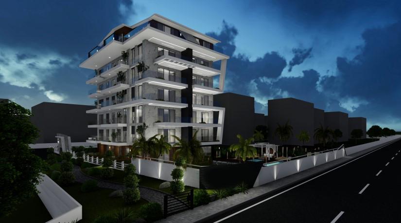 Новые квартиры на первой береговой линии в районе Кестель - Фото 11