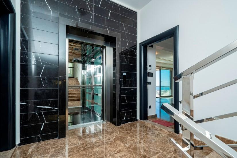 Видовая квартира 2+1 в комплексе люкс в Алании рядом со смотровой площадкой - Фото 14