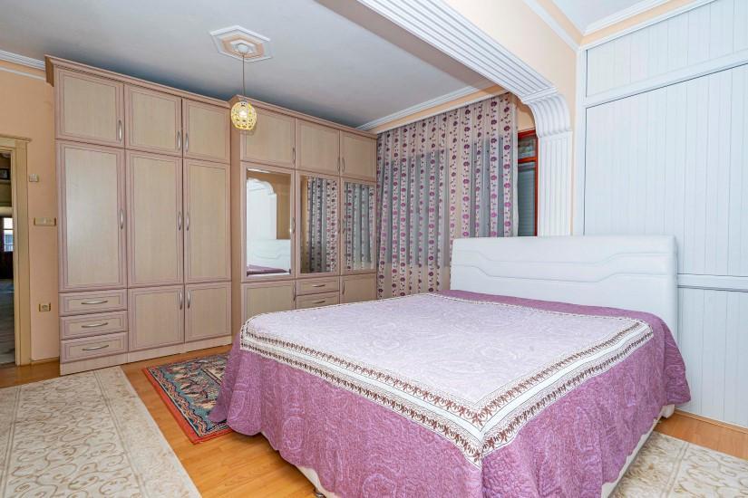 Трёхкомнатная квартира в центре Алании - Фото 13