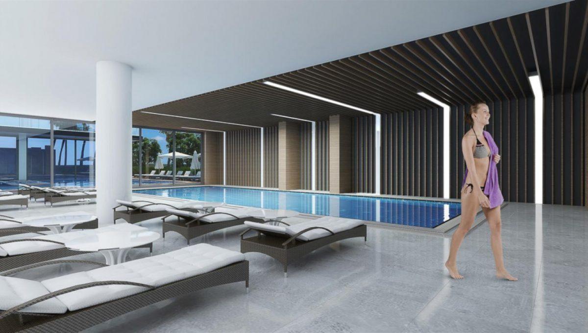 Новая квартира 2+1 на первой береговой линии в Махмутларе - Фото 11