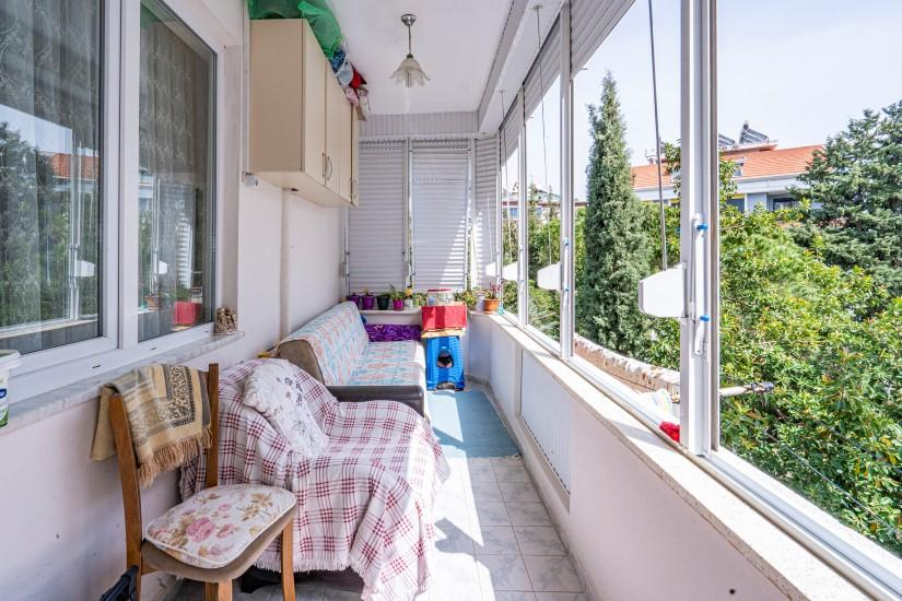 Недорогая трехкомнатная квартира в районе пляжа Клеопатра - Фото 14
