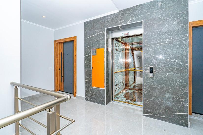 Пентхаус 4+1 в новом доме в центре Алании - Фото 3