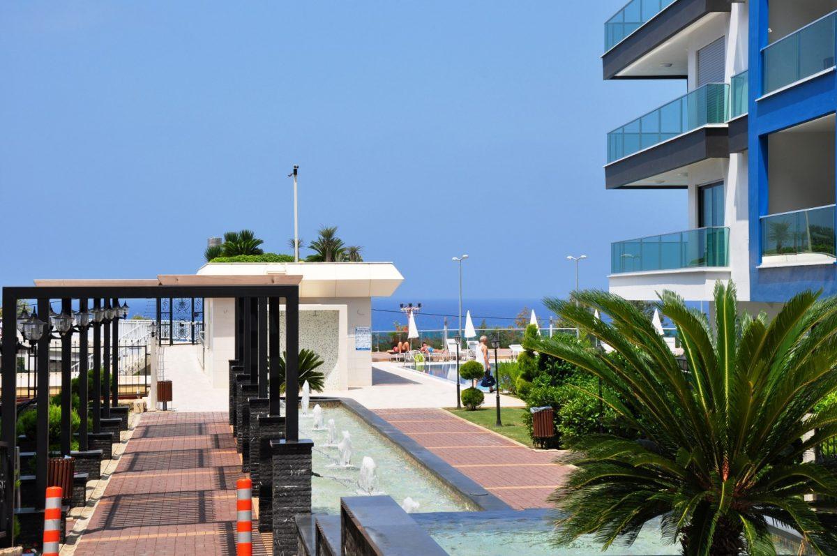 Меблированная квартира 2+1 с видом на море - Фото 11