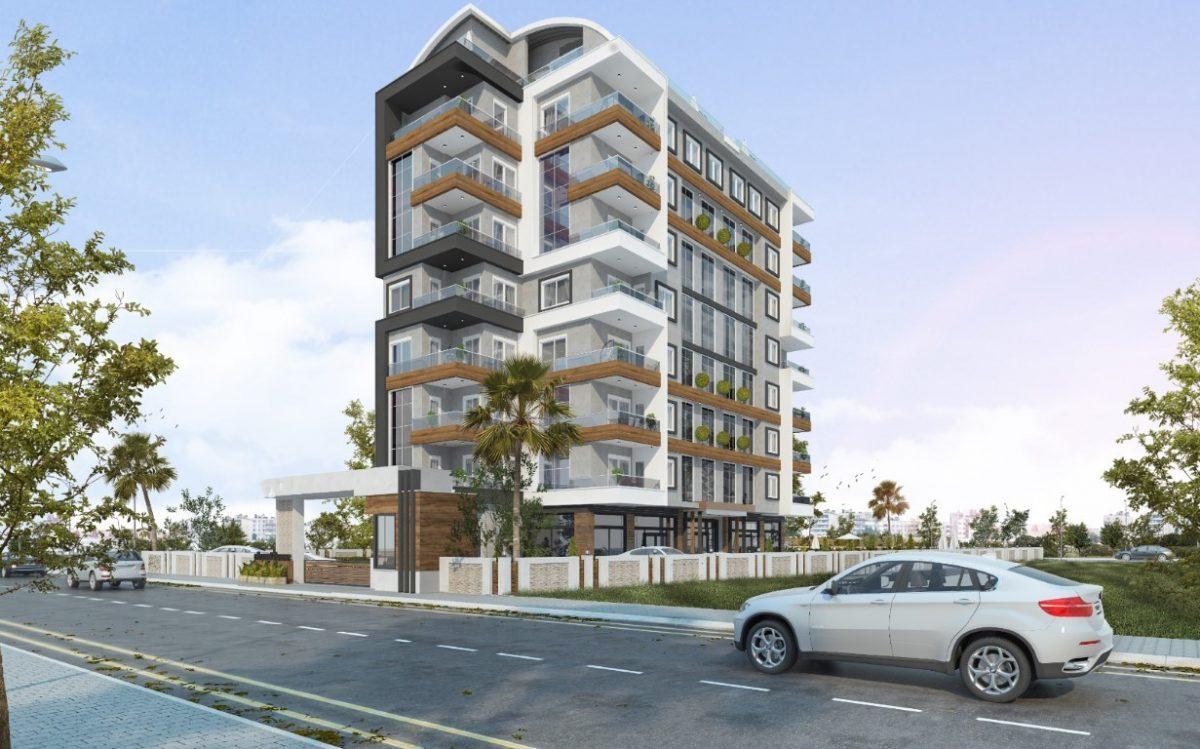 Новый проект жилого комплекса в Авсалларе - Фото 1