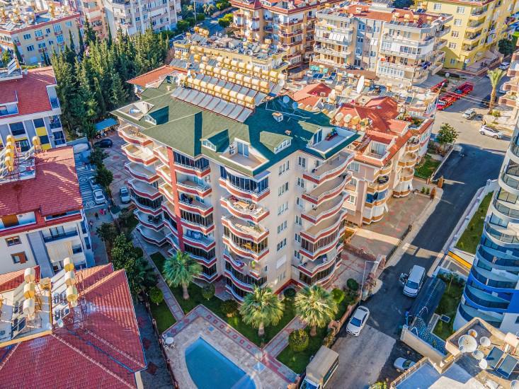 Трёхкомнатные апартаменты в центре Алании - Фото 18