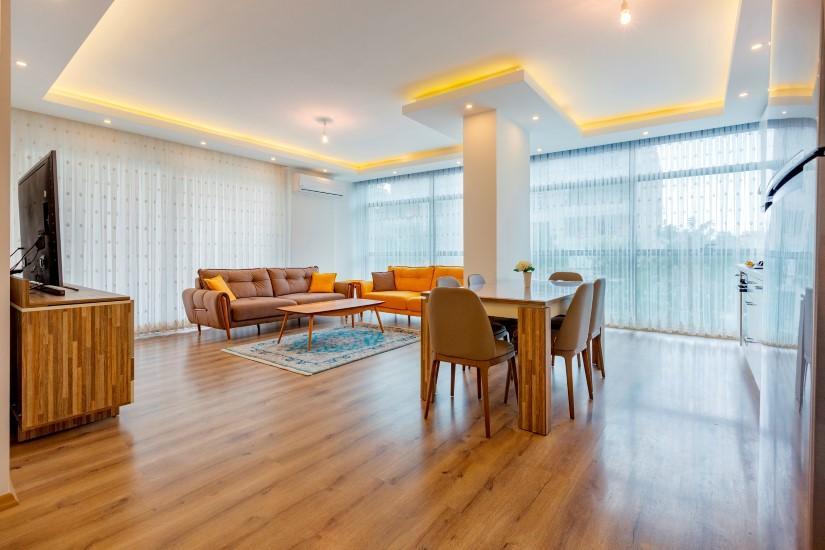 Трёхкомнатная квартира в самом популярном районе Алании - Фото 1