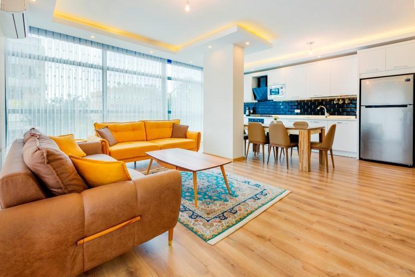 Трёхкомнатная квартира в самом популярном районе Алании - Фото 23
