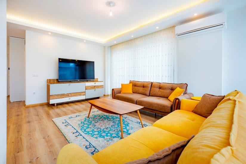 Трёхкомнатная квартира в самом популярном районе Алании - Фото 21